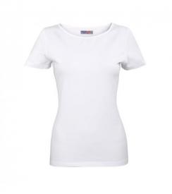 Koszulka Elastan Damska Biała, Rozmiar L