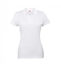 Koszulka Polo Damska Biała, Rozmiar M