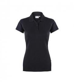 Koszulka Polo Damska Czarna, Rozmiar XL