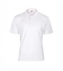Koszulka Polo Męska Biała, Rozmiar L
