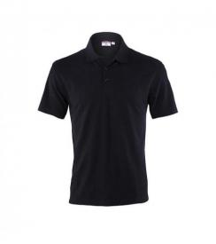 Koszulka Polo Męska Czarna, Rozmiar L
