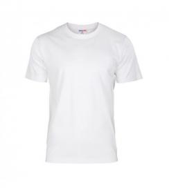 T-Shirt Męski Biały, Rozmiar L