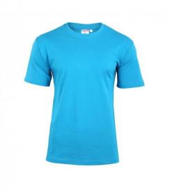 T-Shirt Męski Turkusowy, Rozmiar XL