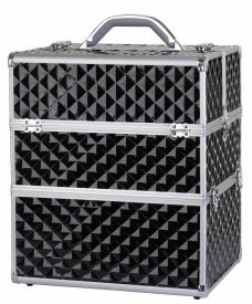 Kufer Kosmetyczny NS06A+ Black Diamond 3D