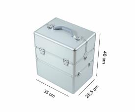 Kufer Kosmetyczny NS06 Silver #3