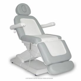 Fotel Kosmetyczny S-Lux Biały/Popiel
