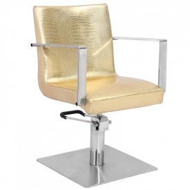 Gabbiano Fotel Fryzjerski Roma Złoty