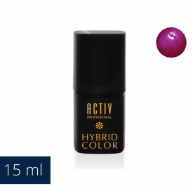 Lakier Hybryd UV LED M13 Lady Luck Fuchsia Fioletowy Róż 15ml