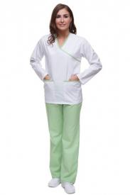 Bluza Mankiet Bez Lamówki T2092 Rękaw Długi Kolorowa