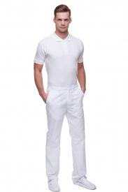Spodnie M7612 PG Białe #1