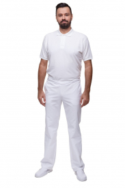 Spodnie M7623 GS Białe