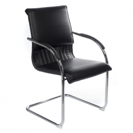 Fotel konferencyjny CorpoComfort BX-SH013 Czarny