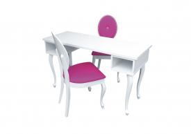 Quatro Lamp II + Krzesła