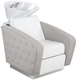 Myjnia Fryzjerska Royal Misa Biała Z Podnóżkiem