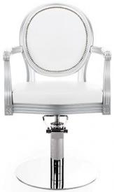Fotel Fryzjerski Royal Lux Na Pompie Hydraulicznej
