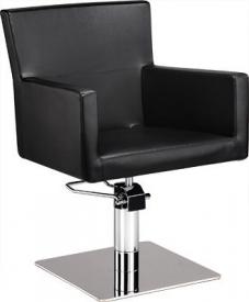 Fotel Fryzjerski Isadora Czarny Baza Pająk W 48h
