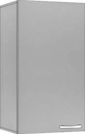 System Modułowy SGN 40 Szafka Górna Niska 72cm, Płyta Połysk