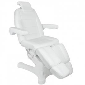 Fotel Kosmetyczny Elektr. A-207c Pedi White/Ivory (5 Silników)