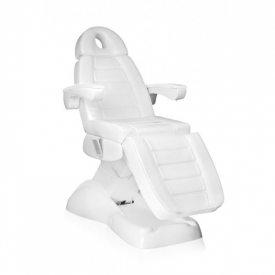 Fotel Kosmetyczny Elektryczny Lux 4M Biały Z Kołyską