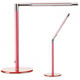 Lampa Led Na Biurko Ultra Slim Red #1