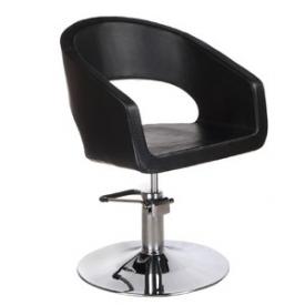 Fotel Fryzjerski Paolo BH-8821 Czarny