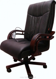 Fotel Nagoja Black - Masujący