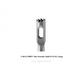 Frez Nożowy Trepan Bruzdy Modzele Odciski (224rf.104.027)