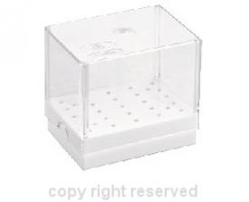 Pudełko Na Frezy Plastikowe 25 Instrumentów Z.104.25