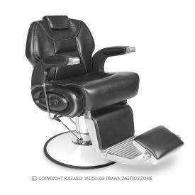 Fotel Fryzjerski Barber, Czarny