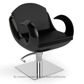 Fotel Fryzjerski Fiore, Czarny