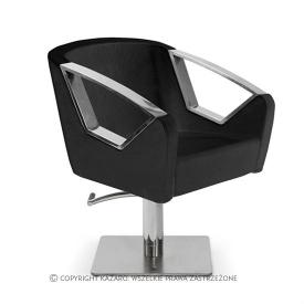 Fotel Fryzjerski Luxury, Czarny