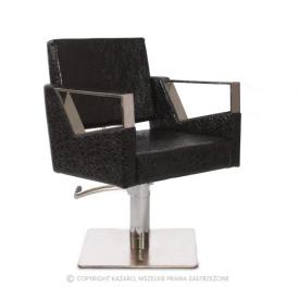 Fotel Fryzjerski Primera, Czarny