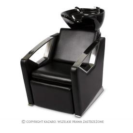 Myjnia Fryzjerska Luxury, Czarna, Czarna misa