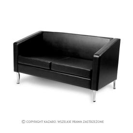 Sofa Porto 2os., Czarna