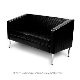 Sofa Porto 2os., Czarny pik