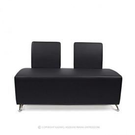 Sofa Quatro 2os., Czarna