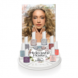 IBD Just Gel Polish Hideaway Collection - Zestaw Hybrydowy