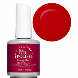IBD Just Gel Polish Lucky Red 14 ml