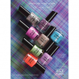 IBD Just Gel Polish Social Lights - Zestaw