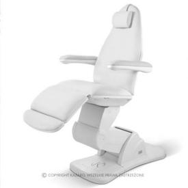 Fotel Kosmetyczny Mona Biała