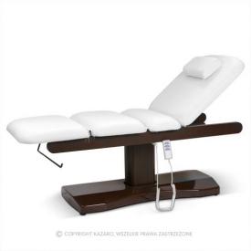 Łóżko Do Masażu Oasis Superior Biały Z Podgrzewaniem
