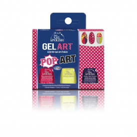 IBD Pop Art Gel Kit - Zestaw Do Zdobień
