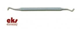 Instrument Kosmetyczny Dwustronny Nierdzewny