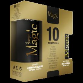 Tahe Zestaw Do Pielegnacji Domowej Po Botoxie Magic Pack (Szampon Do Włosów Bez Soli 250 ml + Magic Mask - Intensywna Maska Bez Spłukiwania 125 ml)