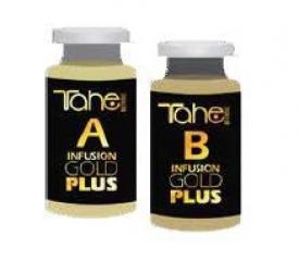 Tahe Kuracja Z Płynnym Złotem I Keratyną Trionica Infusion Gold Plus(A+B), 2 x 10 ml