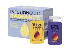 Tahe Ampułki Infusion Gold Radiance (A+B), 2 X 10 ml