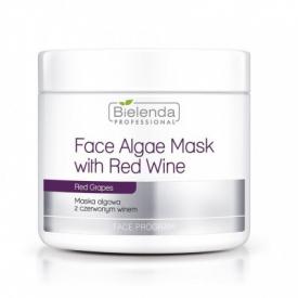 Bielenda Maska Algowa Z Czerwonym Winem - Opakowanie Uzupełniające, 190 g