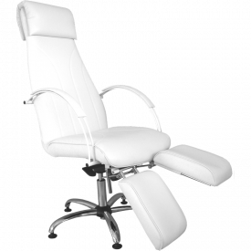 Fotel Do Pedicure Z Dzielonym Podnóżkiem