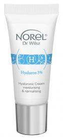 Norel Hialuronowy Krem Nawilżająco-Normalizujący Hyaluron Plus, 15 ml