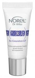 Norel Aktywny Krem Przeciwzmarszczkowy Re-Generation GF, 15 ml